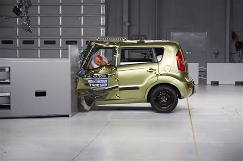 Kia Soul Crash 2013 Ford Focus Honda Civic Others Top Safety