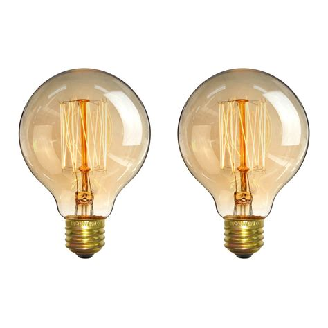 low blue light bulbs edison bulbs elfeland 40w antique vintage light g80