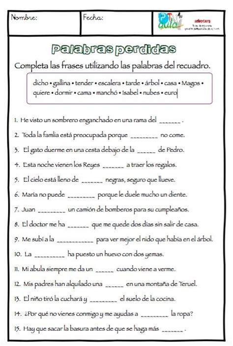 lectura y redaccin ejercicios y teora sobre lengua espaola m 225 s de 1000 ideas sobre estrategias de comprensi 243 n de