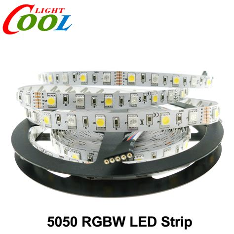 Led 5050 Rgb Led 5050 Rgbw Dc12v 60 Led M Rgb White Rgb Warm White Led Light 5m Lot In Led