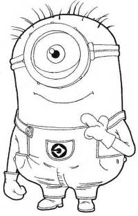 free minion coloring pages minion coloring pages only coloring pages