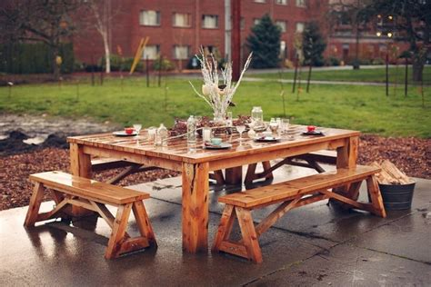 picnic bench ideas 31 alluring picnic table ideas