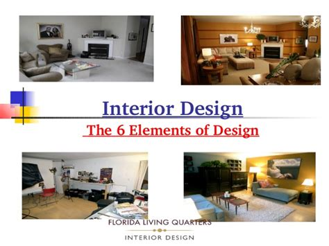 elements of interior design slideshare what are the elements of interior design