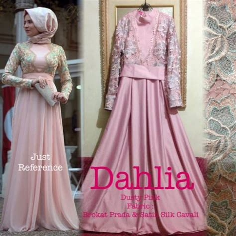 Sale Gamis Akhwat dahlia dress outlet nurhasanah outlet baju pesta