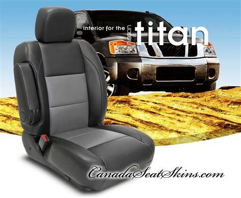 2004 nissan titan seat covers 2004 2015 nissan titan custom leather upholstery