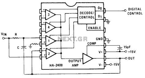integrator circuit with reset gt oscillators gt varius circuits gt integrator r generator with initial condition reset l13660