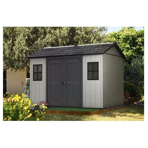home design products keter keter oakland 1175 sd outdoor shed free delivery and