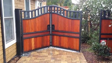 Home Depot Design Ideas by Trackless Bi Fold Gate Automatic Gate Bi Folding With In