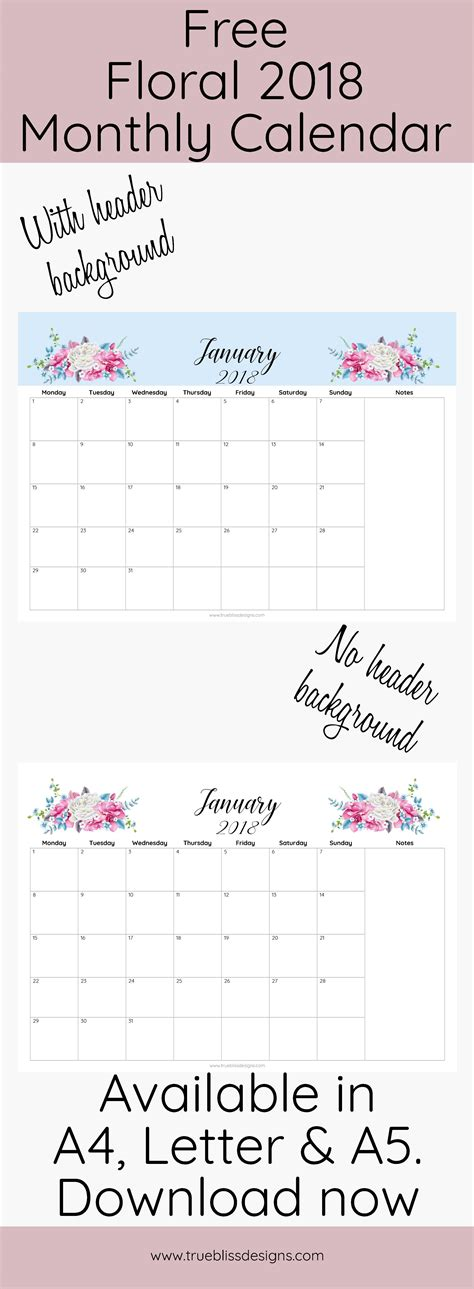 2018 planner weekly and monthly dreams come true calendar schedule organizer and journal notebook with fashion shoes and bag books 2018 floral monthly calendar true bliss designs