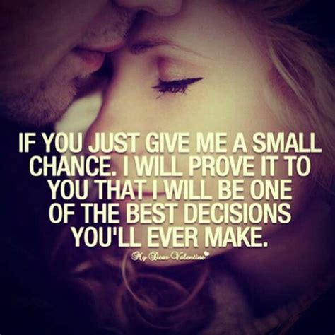 Just One You one more chance quotes quotesgram