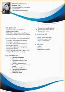 9 model cv gratuit curriculum vitae etudiant