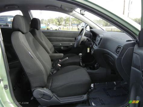 Hyundai Accent 2000 Interior by 2007 Hyundai Accent Gs Coupe Interior Photo 61035343