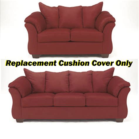 ashley furniture couch cushions ashley 174 darcy replacement cushion cover only 7500138 or