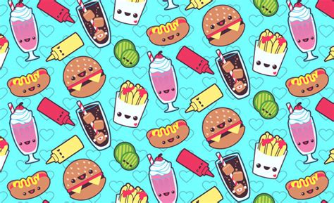 pattern cute illustrator how to create a kawaii soda shop pattern in adobe illustrator