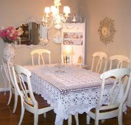shabby chic dining room olivia s romantic home 04 11 10