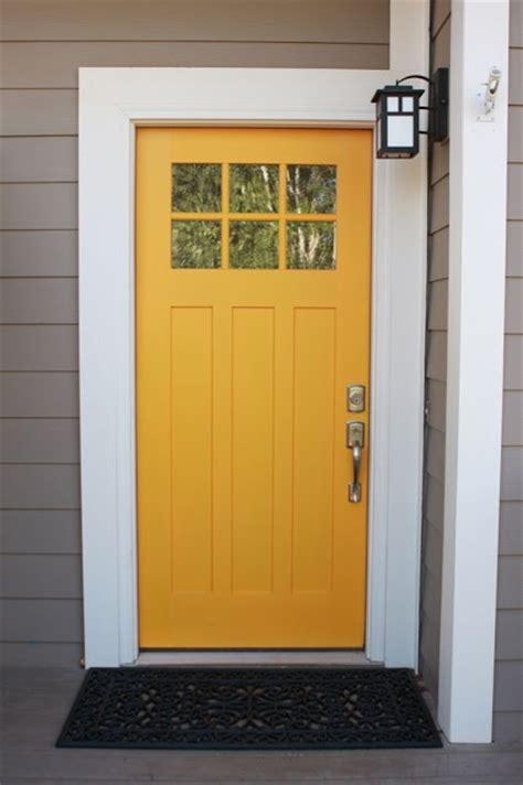 mustard front door yellow mustard door outside