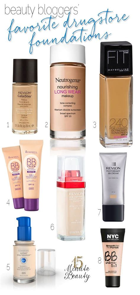 Light Coverage Drugstore Foundation by 17 Best Ideas About Drugstore Foundation On