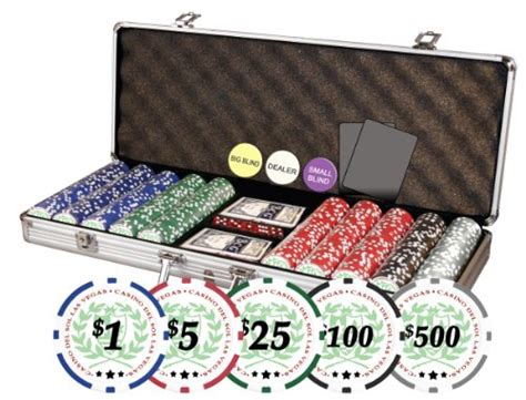 Set Permainan Hold Em Premium Casino Style professional set of of 500 casino sol 11 5 gram
