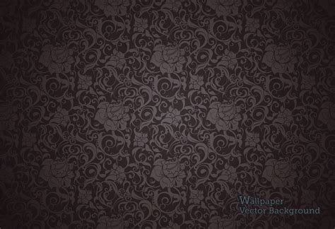 pattern design black 10 dark floral wallpapers floral patterns freecreatives