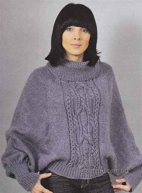 poncho knitting pattern with sleeves 288 best images about poncho on poncho