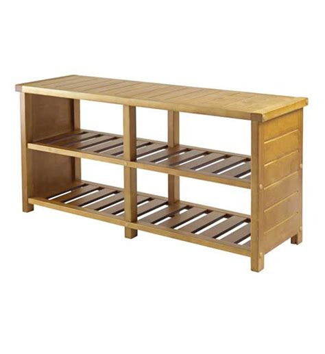 bench with shelves bench with shelves teak finish in storage benches