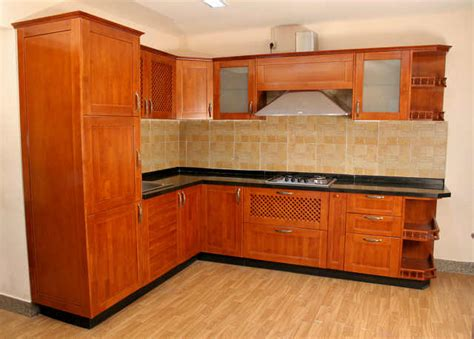rubberwood kitchen cabinets modular kitchen with rubber wood shutter the homestead