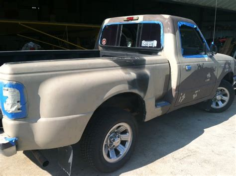 painting the truck cheaply ranger forums the ultimate ford ranger resource