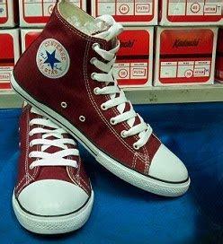 Converse Ct Pendek Merah Marun butik sepatu lukis sepatu all