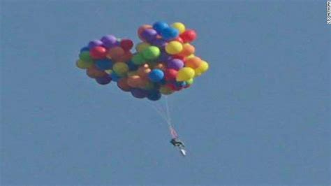 Lawn Chair Balloon by Balloon Soars In Lawn Chair Lands In Cnn