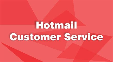 hotmail customer service phone number for instant