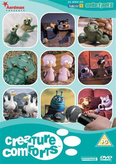 creature comforts christmas special creature comforts series 1 part 2 dvd zavvi