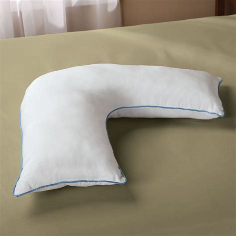 shaped pillows l shaped pillow side pillow shaped pillows easy comforts