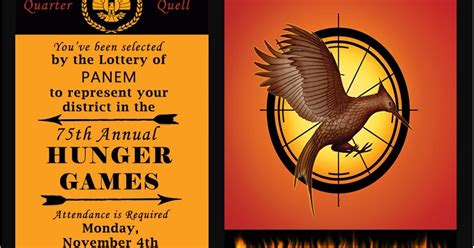 Hunger Games Themes And Symbols | invite and delight catching fire fun