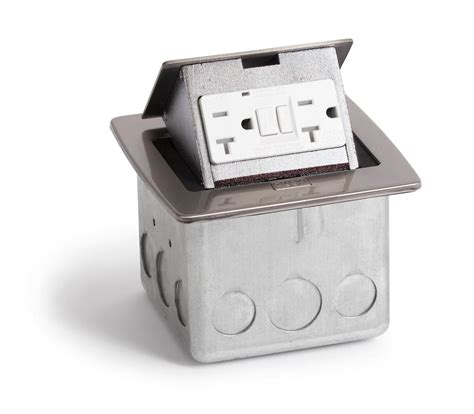 Countertop Receptacle by Lew Electric Pufp Ct Countertop Pop Up Box W 2 Gfi 20a