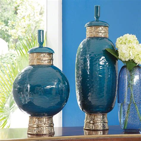 home decor blue blue home decor blue vases blue jars blue bowls