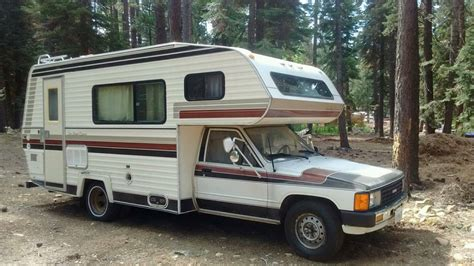 Toyota Motorhome 1984 Toyota Sun Land Express Motorhome For Sale In Reno Nv