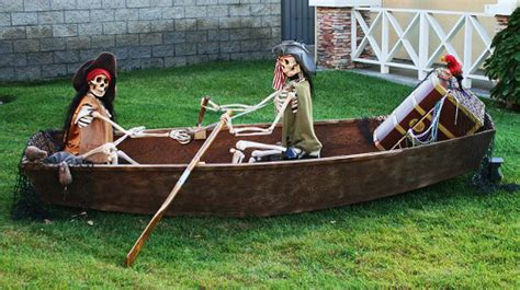house boat props pirate halloween decorations props and ideas
