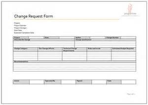 prince2 change request template programme project tools project delivery document