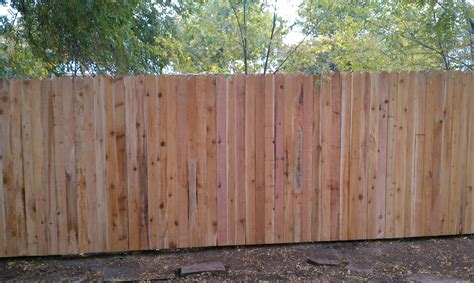 ear fence installation for eared wood fence fences