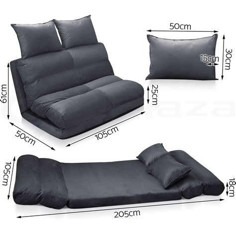 folding floor sofa bed lounge sofa bed double size floor recliner folding chaise