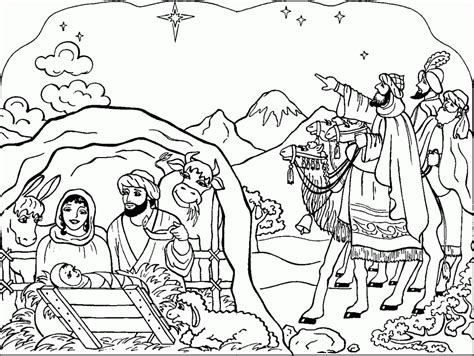 coloring pages christmas nativity az coloring pages coloring pages christmas nativity coloring home