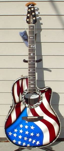Elglow Top Terlari Limited ovation limited edition c779lx custom legend u s a flag