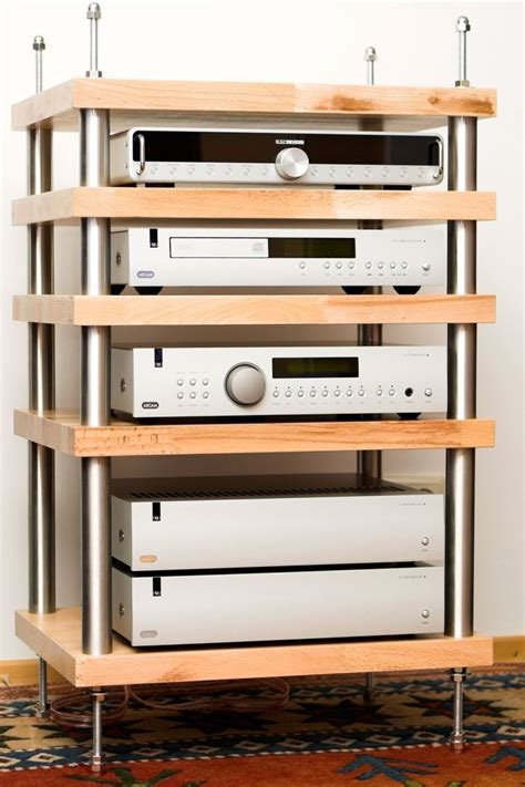 Diy Stereo Rack by 25 Best Ideas About Audio Rack On Hifi Rack