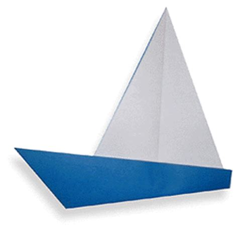 Yacht Origami - yacht easy origami for