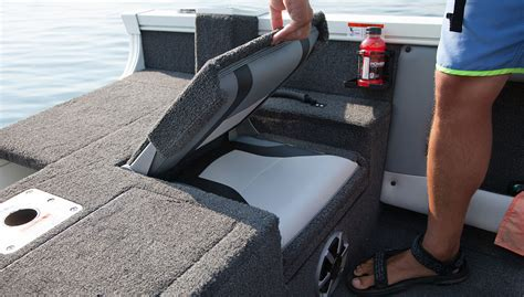 how to build boat seats 2018 fs 1610 v boat the top new fish sport boats