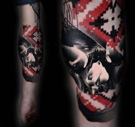 tattoo ink target 70 red ink tattoo designs for men masculine ink ideas