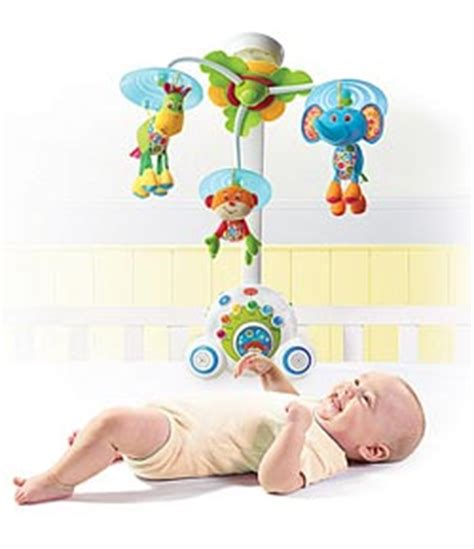 Light Up Crib Mobile by Tiny Soothe N Groove Mobile Blue 0 24 Months Crib Toys Baby