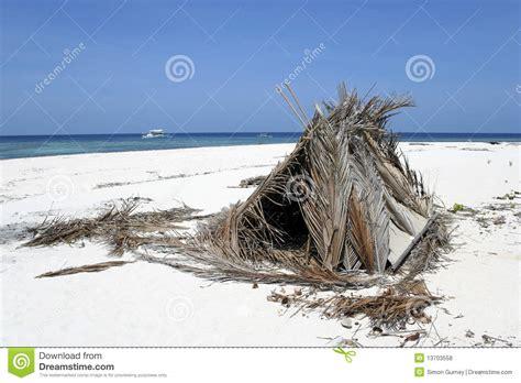 shelters island desert island shelter royalty free stock photos image 13703558