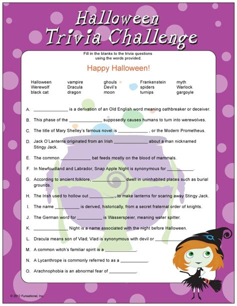 printable free halloween trivia questions and answers pictures free printable adult halloween games best