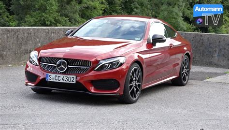 Mercedes C43 Amg by 2017 Mercedes Amg C43 Coup 233 367hp Drive Sound 60fps